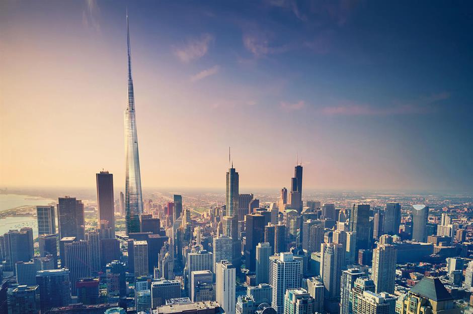 Czy można zbudować wysoki na milę wieżowiec?