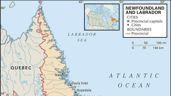 Ņūfaundlenda un Labradora