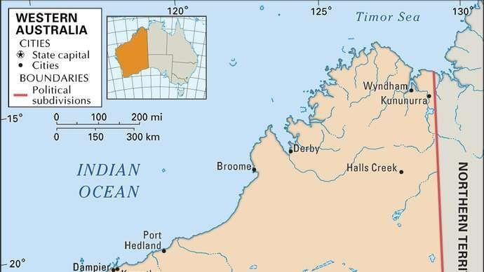 Západná Austrália