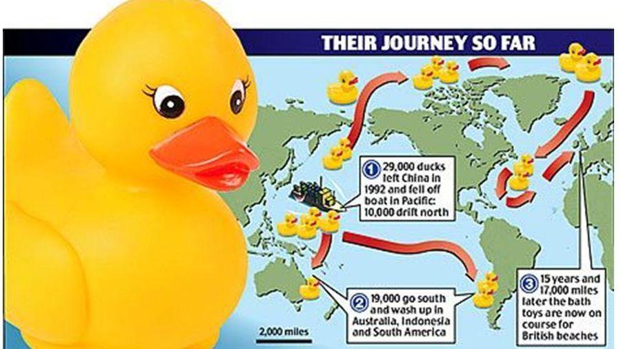 The Plastic Duck Armada e sua jornada mundial acidental