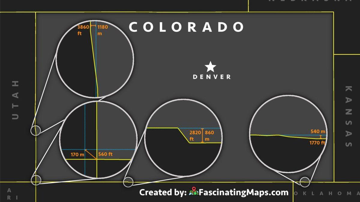 Colorado é um retângulo? Pense de novo.